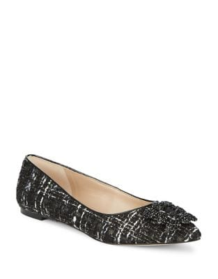 Nara Tweed Ballet Flats by Karl Lagerfeld Paris