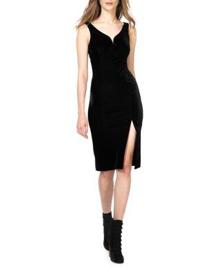 Velvet Bodycon Dress by Donna Morgan