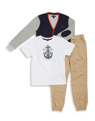 Boy's Three-Piece Sweater,...