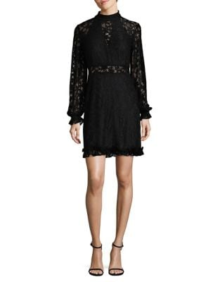Lace Mini Dress by Laundry by Shelli Segal