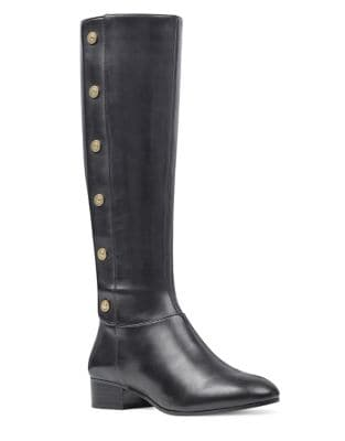 Oreyan Leather Knee-High Boots by Nine West