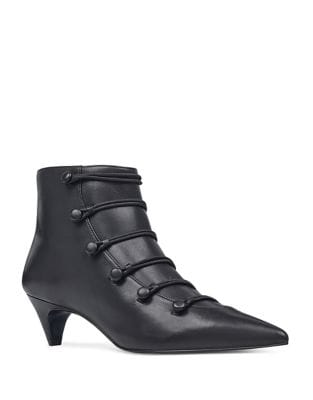 Zadan Leather Booties by Nine West