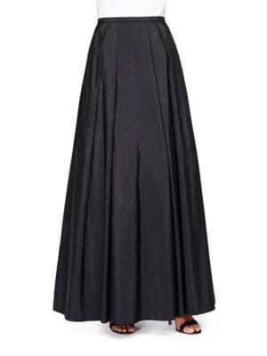 Taffeta Maxi Skirt by Alex Evenings