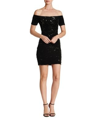 Off-The-Shoulder Bodycon Dress by Dress The Population