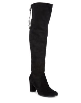 Kali Suede Knee-High Boots by Blondo