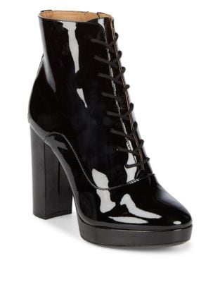 Melinda Patent Leather Booties by Calvin Klein