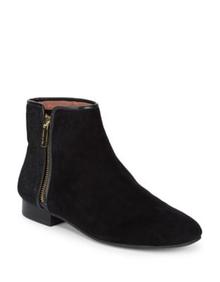 Yasmin Suede Booties by Louise et Cie