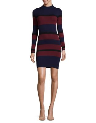 Bold Stripe Bodycon Dress by BCBGeneration