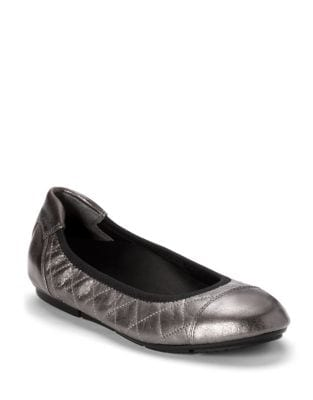 Ava Leather Ballet Flats by Vionic