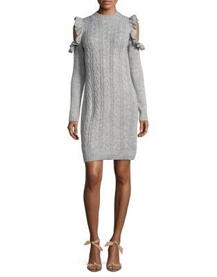 Cold Shoulder Dress by Wayf