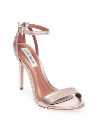Lacey Stiletto Leather Sandals by Steve Madden