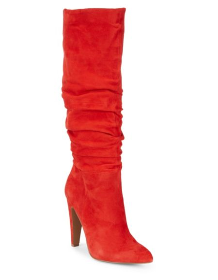 Rubie Microfiber Gathered Boots by Design Lab