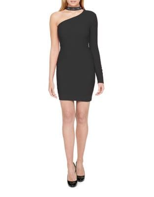 One-Shoulder Dress by Guess