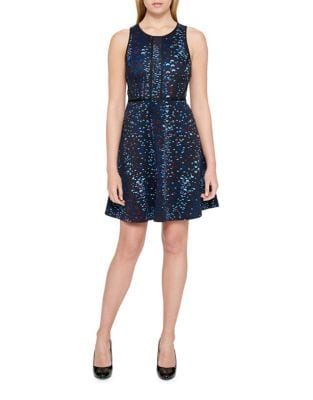 Printed A-Line Dress by Guess