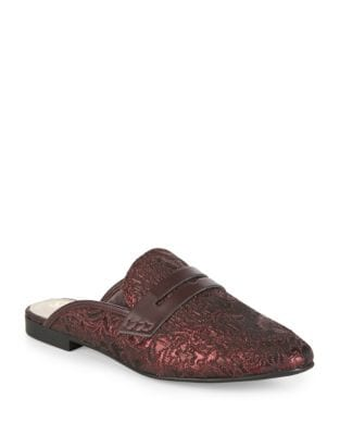 Paulie Textured Mules by Circus by Sam Edelman
