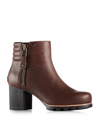 Danica Leather Booties by Sorel