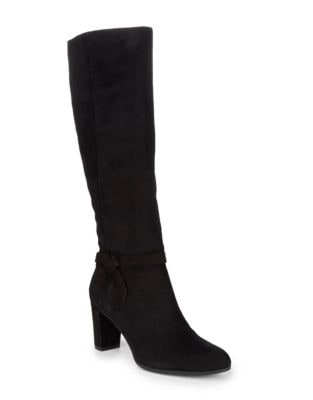 Bellow Strappy Suede Boots by Bandolino