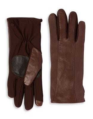 Leather Strip Gloves 500087556360