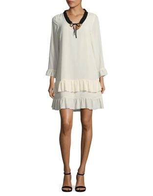 Tiered Shift Dress by Paper Crown