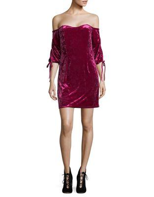 Velvet Bodycon Dress by Cynthia Steffe