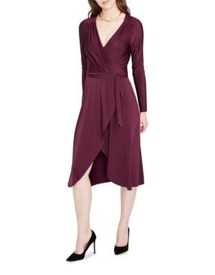 Long-Sleeve Wrap Dress by RACHEL Rachel Roy