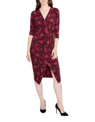 Mock-Wrap Sheath Dress by RACHEL Rachel Roy