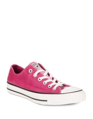 Classic Velvet Sneakers by Converse
