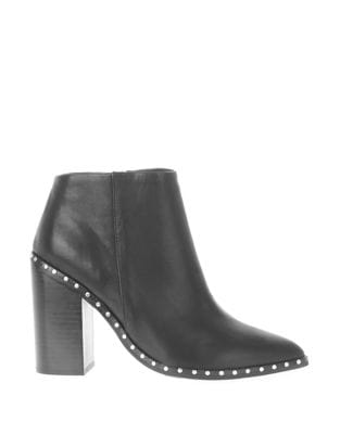 Ajax Leather Booties by Sol Sana