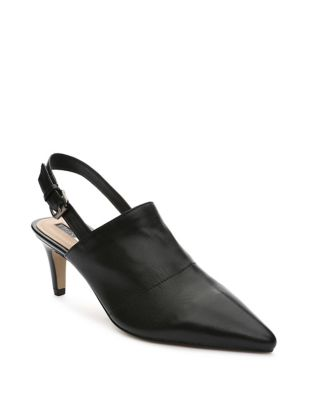 Gayle Leather Slingback Pumps by Tahari