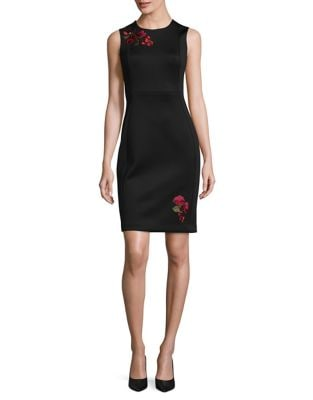 Elegant Sheath Dress by Calvin Klein