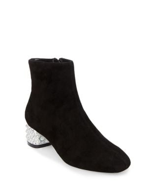 Ilka Fabric Booties by Betsey Johnson