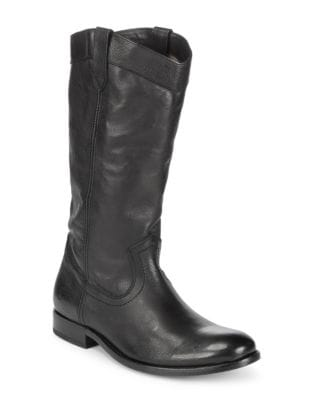 Melissa Slip-On Leather Boots by Frye