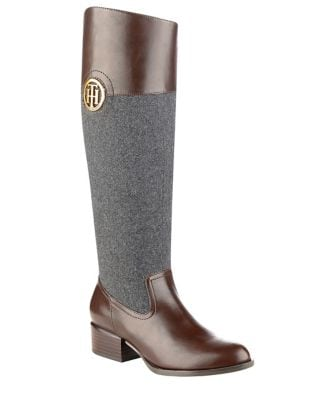 Madelen Knee-High Boots by Tommy Hilfiger