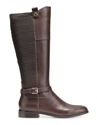 Galina Leather Knee High Boots by Cole Haan