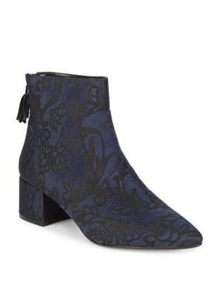 Maude Tassel Brocade Booties by Karl Lagerfeld Paris
