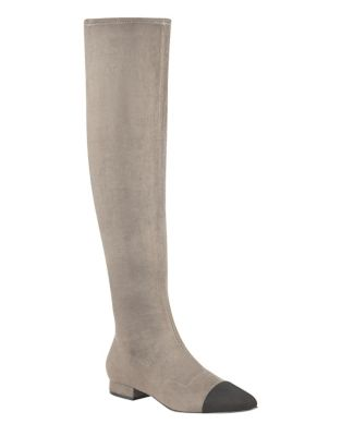Cap Toe Over-the-Knee Boots by Ivanka Trump