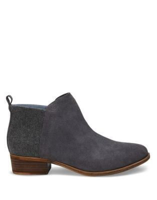 Deia Round Toe Booties by TOMS