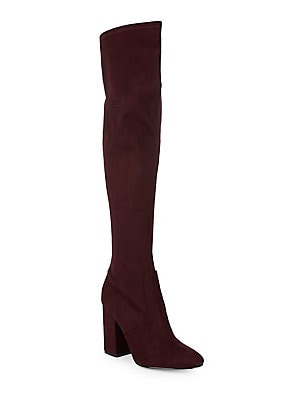 c8e29685e0d Ivanka Trump - Tahani Velvet Over-The-Knee Boots - lordandtaylor.com