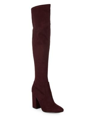 Tahani Velvet Over-The-Knee Boots by Ivanka Trump