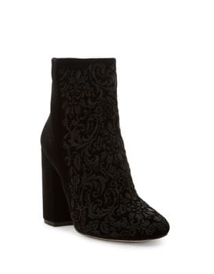 Wovella Velvet Boots by Jessica Simpson