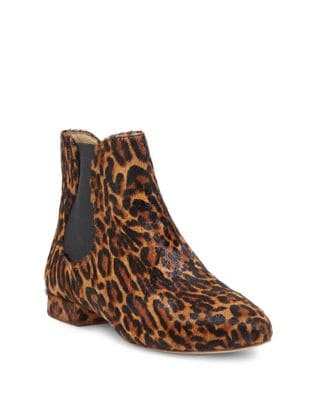Meezzy Calf Hair Booties by Enzo Angiolini