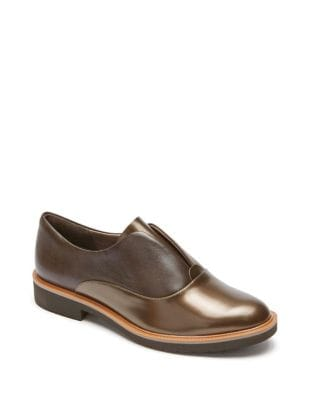Motion Abelle Slip-On Leather Oxfords by Rockport