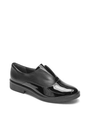 Total Motion Abelle Slip-On Patent Leather Oxfords by Rockport