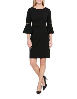 Designed Sheath Dress by Tommy Hilfiger