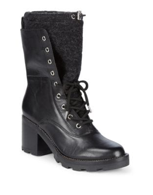 Gladys Leather Booties 500087571861