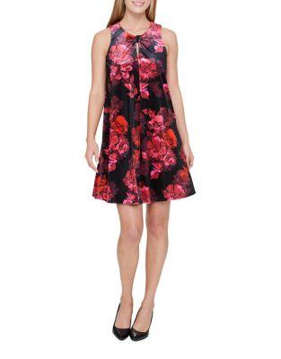 Velvet Floral Dress by Tommy Hilfiger