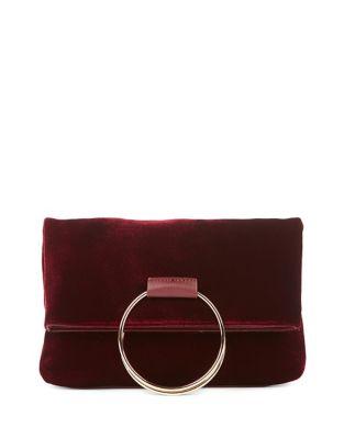Velvet Top Handle Bag 500087572567