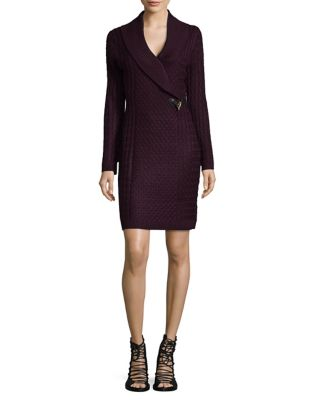 Toggle Front Sweater Dress by Calvin Klein