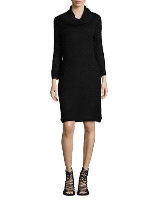 Cowlneck Sweater Dress by Calvin Klein