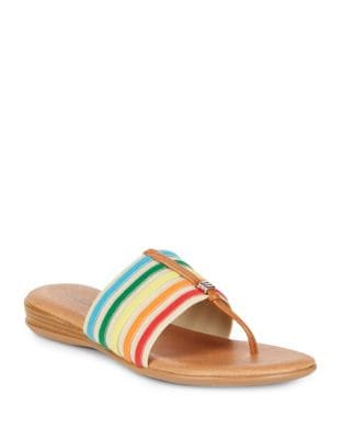 Nice Flat Sandals by Andre Assous